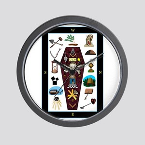 Master's Carpet Wall Clock