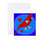 Cardinal Greeting Cards (Pk of 10)