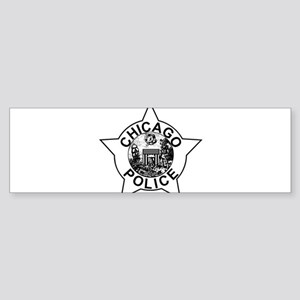 Chicago police Bumper Sticker