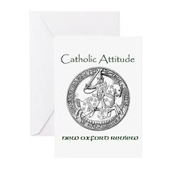 Catholic Attitude Greeting Cards (Pk of 10)