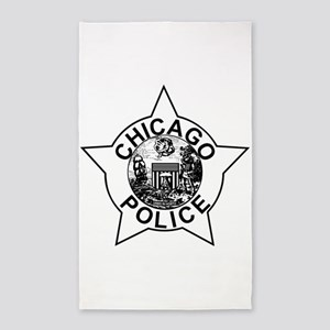 Chicago police Area Rug