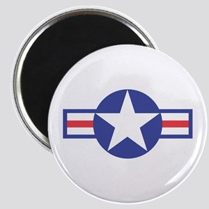 US USAF Aircraft Star Magnet