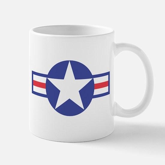 US USAF Aircraft Star Mug