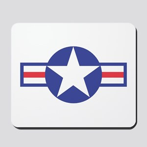 US USAF Aircraft Star Mousepad