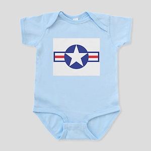 US USAF Aircraft Star Infant Creeper
