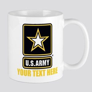 U.S. Army Logo Personalized Mug