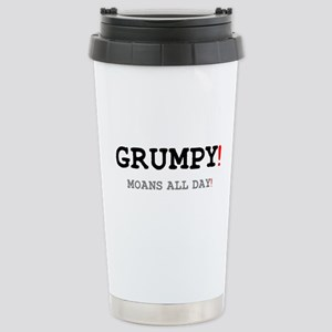 GRUMPY - MOANS ALL DAY! Small Mugs