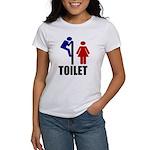 Toilet Peek Women's T-Shirt