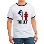 Toilet Peek Ringer T