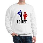 Toilet Peek Sweatshirt