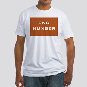 End Hunger Fitted T-Shirt