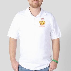 pizza Golf Shirt