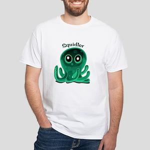 Squidler White T-Shirt