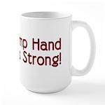 Rosie the Riveter's Pimp Hand Large Mug