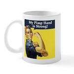 Rosie the Riveter's Pimp Hand Mug
