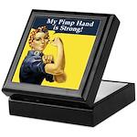 Rosie the Riveter's Pimp Hand Keepsake Box