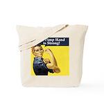 Rosie the Riveter's Pimp Hand Tote Bag