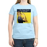 Rosie the Riveter's Pimp Hand Women's Light T-Shir