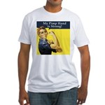 Rosie the Riveter's Pimp Hand Fitted T-Shirt