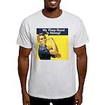 Rosie the Riveter's Pimp Hand Light T-Shirt