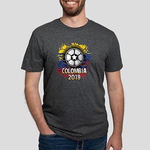 Soccer Colombia Team 2018 Mens Tri-blend T-Shirt