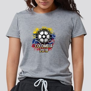 Soccer Colombia Team 2018 Womens Tri-blend T-Shirt
