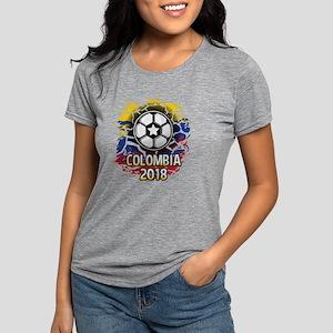 Soccer Colombia Team 2018 Womens Tri-blend T-Shirt