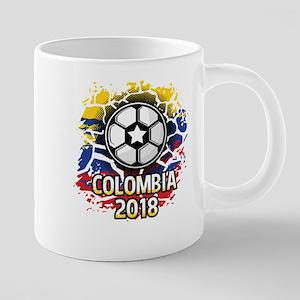Soccer Colombia Team 2018 20 oz Ceramic Mega Mug
