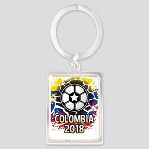 Soccer Colombia Team 2018 Portrait Keychain
