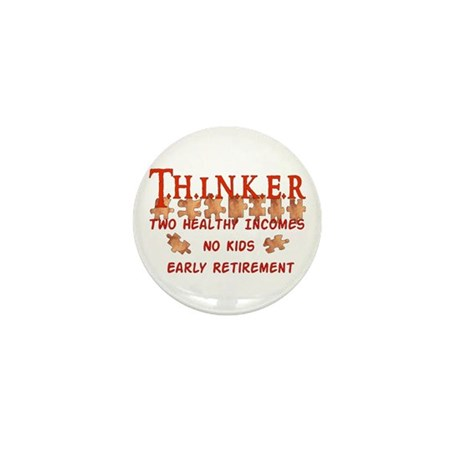 Child-Free Thinker Mini Button (100 pack)