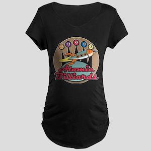 Atomic Billiards Maternity Dark T-Shirt