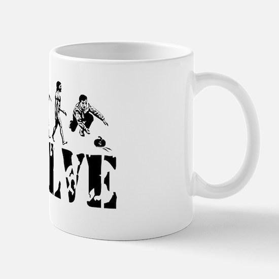 Curling Evolution Mug
