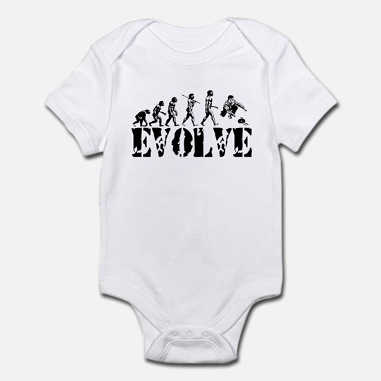 Curling Evolution Infant Bodysuit