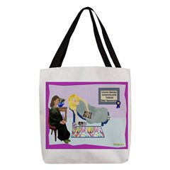 Diet Tomorrow Polyester Tote Bag