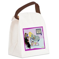 Diet Tomorrow Canvas Lunch Bag