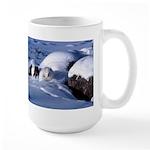 Arctic Fox Large Mug
