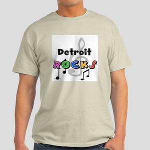 Detroit Rocks Light T-Shirt
