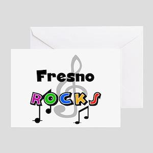 Fresno Rocks Greeting Card