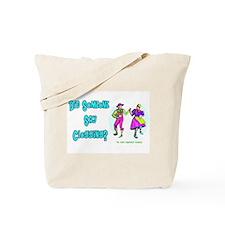 Clogging Clogger Tote Bag