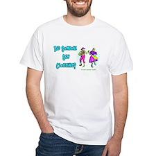 Clogging Clogger White T-Shirt