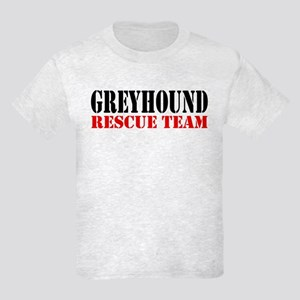 Greyhound (race dog) Rescue Kids Light T-Shirt