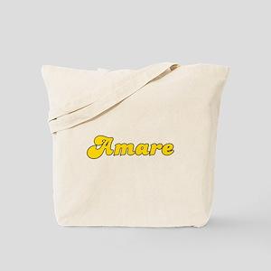 Retro Amare (Gold) Tote Bag