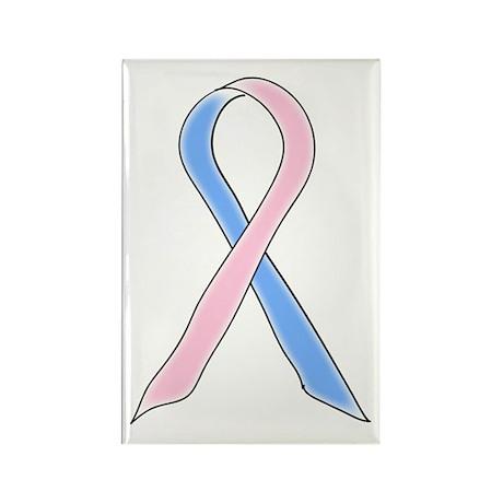 ribbon Rectangle Magnet (100 pack)