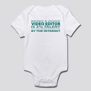 Good Video Editor Infant Bodysuit