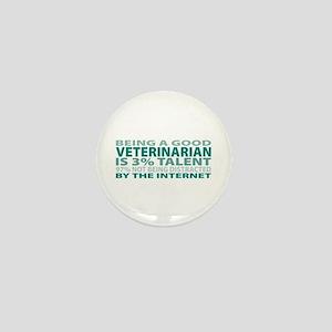 Good Veterinarian Mini Button