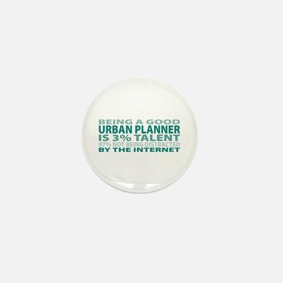 Good Urban Planner Mini Button