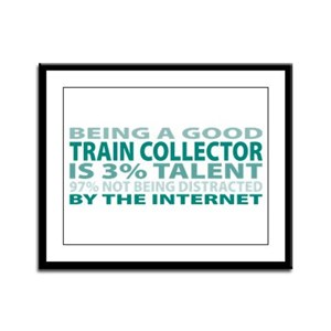 Good Train Collector Framed Panel Print