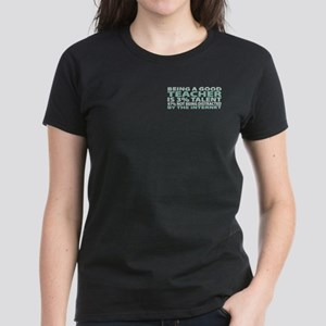 Good Teacher Women's Dark T-Shirt