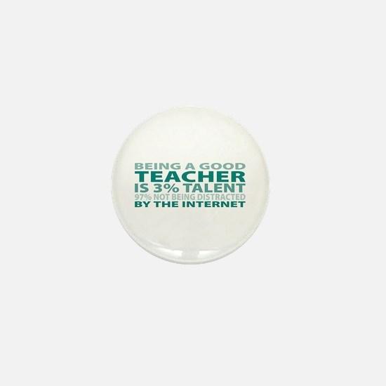 Good Teacher Mini Button