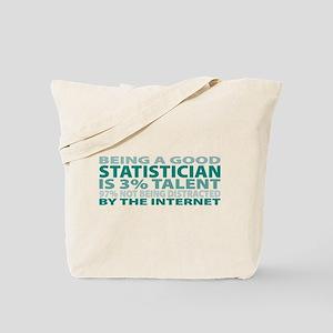 Good Statistician Tote Bag
